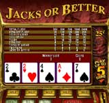 Click to play Free Jacks or Better Video Poker Game