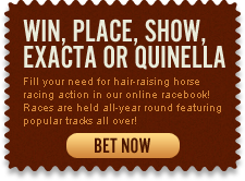 Win, Place, Show Exacta or Quinella